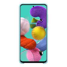 Buy <b>Galaxy A51</b> Silicone Phone <b>Case</b> in Blue | <b>Samsung</b> UK