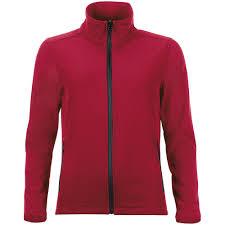 <b>Куртка софтшелл женская RACE</b> WOMEN красная с логотипом ...
