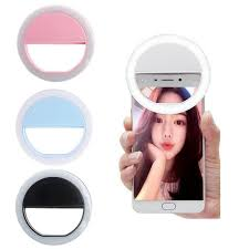 Phone Selfie Ring Flash <b>Led Fill Light</b> Lamp <b>Camera</b> Photography ...