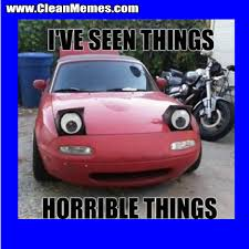 Horrible Things Car | Clean Memes – The Best The Most Online via Relatably.com
