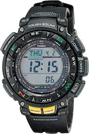 Casio <b>Men's</b> Pathfinder Triple Sensor <b>Multi-Function Sport Watch</b>