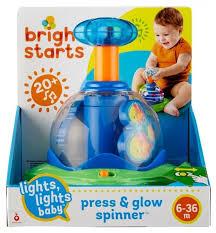 Купить <b>Юла</b>-карусель <b>Bright Starts Волшебная</b> вертушка (10042 ...