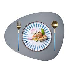JTX Placemats Round Leather for Dinner Table Mats ... - Amazon.com