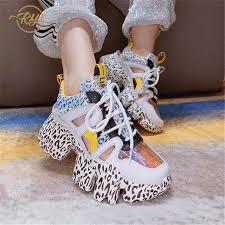 <b>RY RELAA women sneakers</b> 2018 platform <b>sneakers</b> Genuine ...