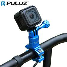 PULUZ Adapter Mount For GoPro Hero 5 6 7 <b>360 Degree Rotation</b> ...