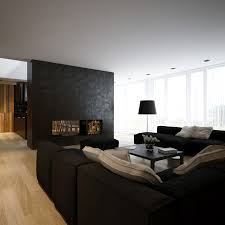 amazing white wood furniture sets modern design:   black white pine lounge area