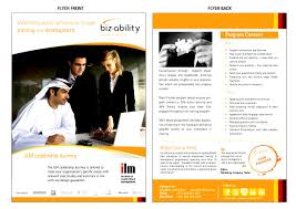 brochure training brochure template inspiration templates training brochure template