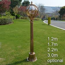 outdoor lamp post lights antique courtyard outdoor lighting 1