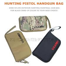 New Nylon Portable Pistol Handgun <b>Bag</b> Gl 17 HK IPSC Protect ...