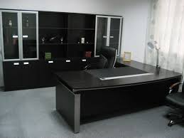large size of office cool black theme of elegant office furniture designed using spacious room concept chic lshaped office desk
