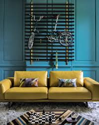 Teal Color Schemes For Living Rooms Give A Living Room Character With Clever Colour Ideas The Room Edit