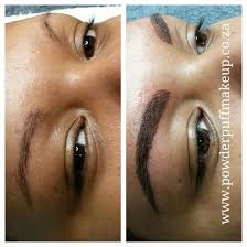 permanent makeup hairstroke eyebrow tattoo powderpuffmakeup co za south africa permanentmakeup capetown powderpuffmakeup somerserwest call lisl