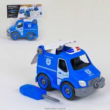 Машина-конструктор <b>Полиция</b> 1357/21 деталь/ <b>Play Smart</b> (<b>арт</b> ...