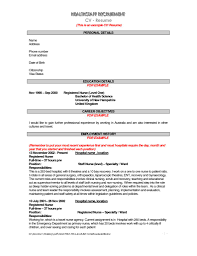 resume examples objectives getessay biz sample resume of nurse by iwu16828 in resume examples