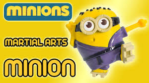 martial arts minion minions movie mcdonald s happy meal toy martial arts minion minions movie 2015 mcdonald s happy meal toy review by ilovethistoy