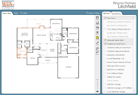autodesk homestyler easy online tool to create d house layout and    Wayne Homes Interactive Floor Plan Customize