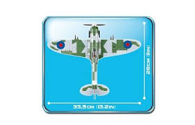 <b>Конструктор COBI</b> Самолет-истребитель <b>Supermarine Spitfire</b> Mk ...