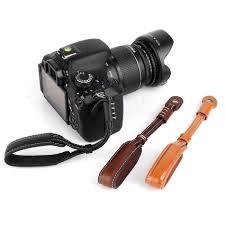 Camera Strap PU <b>Leather Camera Wrist Hand</b> Strap Grip For Nikon ...