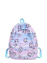 Buy Kid's Backpack <b>Cute Cartoon</b> Unicorn Pattern Fashion Bag ...