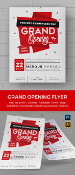 grand opening flyer psd ai vector eps format modern grand opening flyer