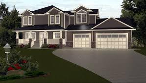 Garage Plan Front Elevation Garage Designs With Living    garage designs   living space above