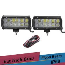 online buy whole bar work duties from bar work duties 6 5 inch 60w led work light off road driving light bar for ford f350 dually 2003