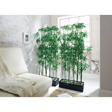 <b>Artificial Bamboo Plant</b> Room Divider, approx. 140 cm high: Amazon ...