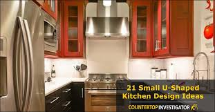 small u shaped kitchen design:  small u shaped featured