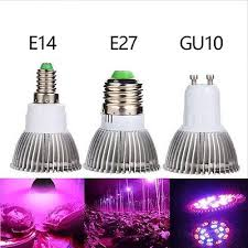 E27 E14 Gu10 Full Spectrum <b>18W 28W LED Grow</b> Light Veg Flower ...