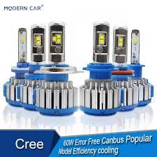 <b>MODERN CAR Led</b> Headlights 880 9005 9006 H10 H1 <b>H3</b> H4 H7 ...