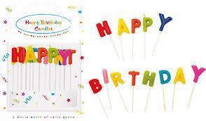 <b>Свечи</b>-<b>буквы PROCOS</b> Happy Birthday д/<b>торта</b> Party Essentials ...