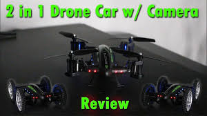 <b>2 in 1</b> Flying Drone <b>Car</b> with Camera Review - YouTube