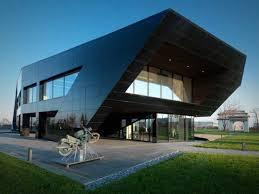 amazing design given to an office building beautiful office building
