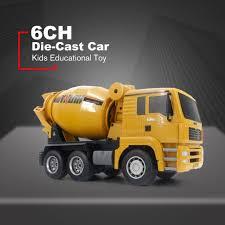 <b>1333</b> 1:18 <b>6CH Die</b>-<b>Cast</b> Alloy Remote Control Mixer Truck ...