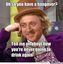 Today I had a hangover | Erica's Blog via Relatably.com