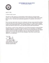 recommendation letter air force professional resume cover letter recommendation letter air force letter of recommendation examples air force writer air force letter of recommendation