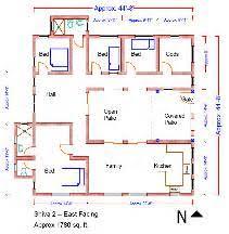 South Facing House Vastu Floor Plans  Files Attached   Reviewbmp    Vastu East Facing House Plans