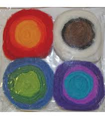 needle felting supplies felt applique kits jo ann feltworks multi color roving rolls