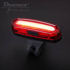 Deemount <b>COB Rear Bike light</b> Taillight Safety Warning USB ...
