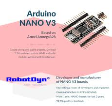 <b>Nano V3 ATmega328</b>/CH340G, Micro USB, Pin headers NOT ...