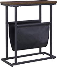 Side Table With Magazine Rack - Amazon.com