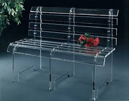 acrylic furniture view in gallery an acrylic bench more acrylic furniture finds for a sleek style acrylic legs for furniture