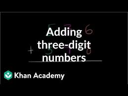Using place value to add 3-digit numbers: part 1 (video) | Khan ...