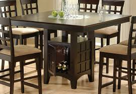 chairs atlanta coaster dining room table cappuccino counter height dining table  cappuccino counter height dini