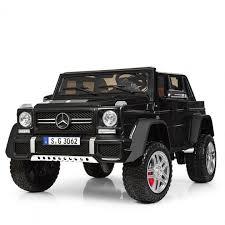 <b>Электромобиль Barty Mercedes-Maybach G650</b> черный глянец ...