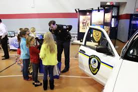 mppd news career fair for belle hall elementary at their career fair this morning all of the kids were excited and asked thoughtful questions about our job thank you to belle hall for inviting us