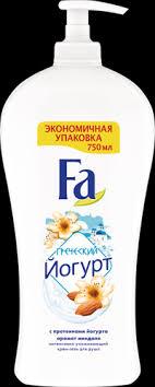 <b>Гель для душа FA</b> Греческий Йогурт – купить в сети магазинов ...
