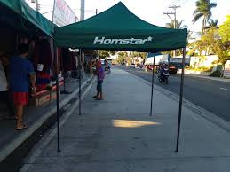 HOMSTAR BRAND <b>3m x 3m</b> Retractable <b>HIGH QUALITY</b> Gazebo ...