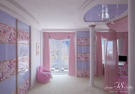 girls bedroom compact blue pink