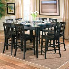 Dining Room Tables That Seat 8 Dining Table Napadiningtable Black Color Wood Square Dining Room